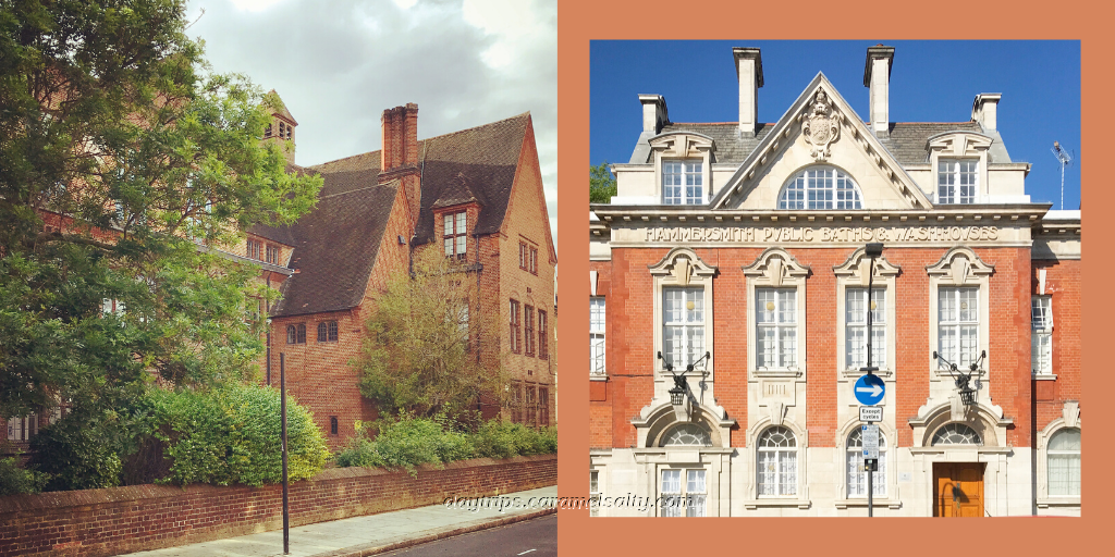Two magnificent buildings on Lime Grove, Shepherds Bush