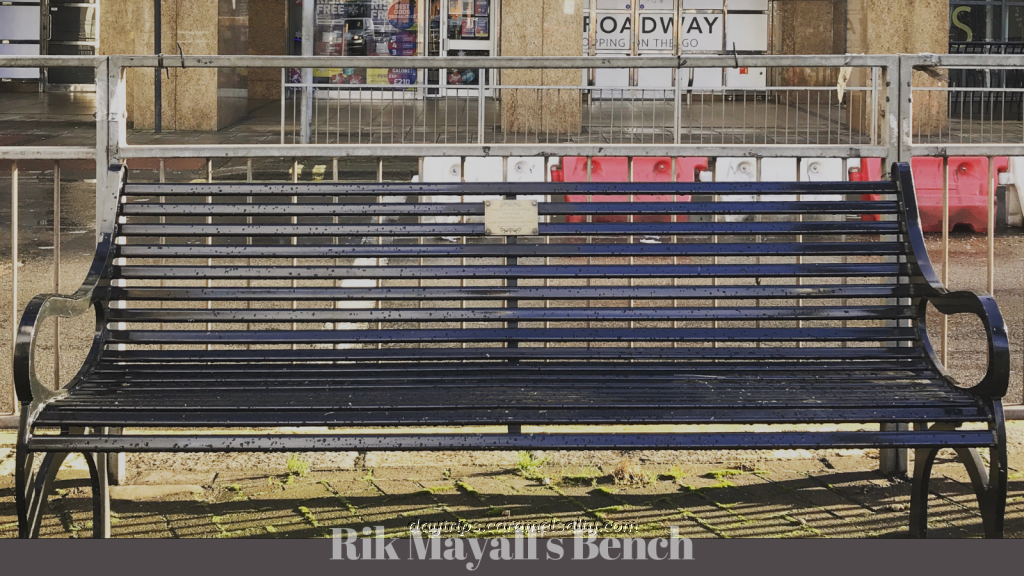 Rik Mayall's Tribute Bench
