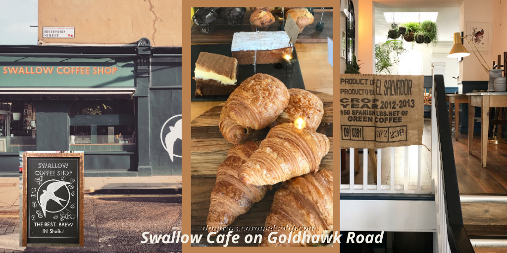 Swallow Cafe on Goldhawk Road
