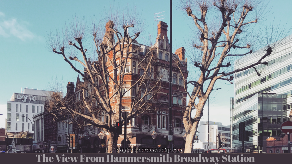 View From Hammersmith Broadway Station