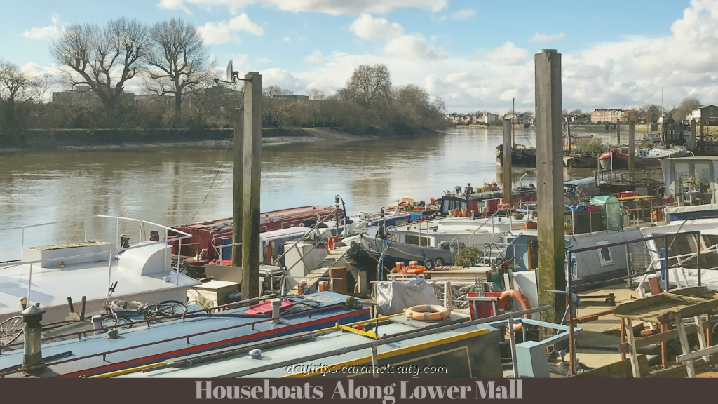 Houseboats Along Lower Mall