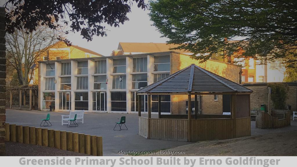 Greenside Primary School Designed by Erno Goldfinger