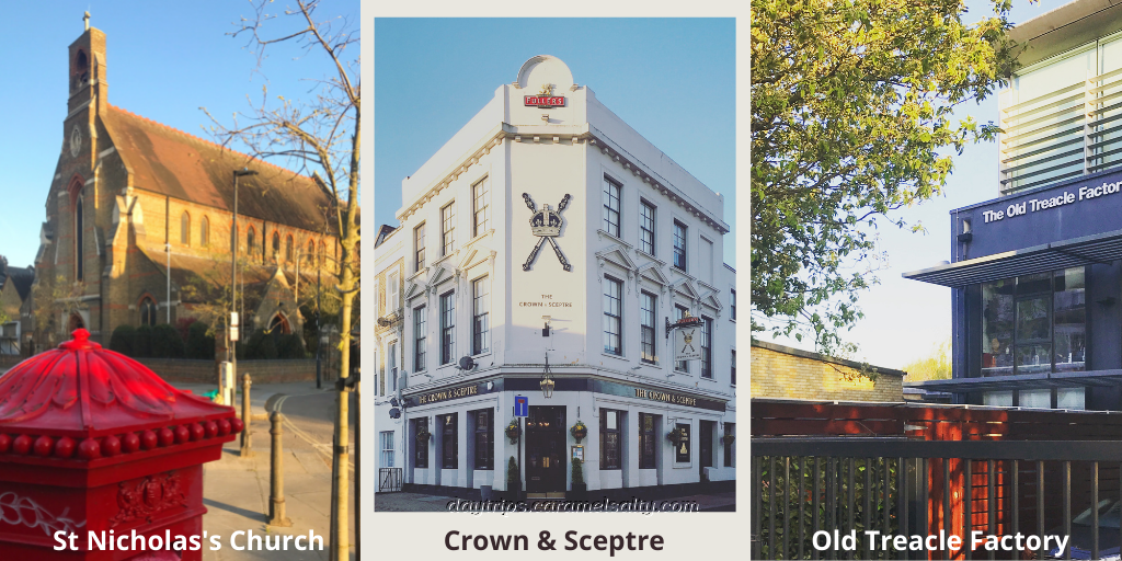 St Nicholas's, Crown and Sceptre and Old Treacle Factory